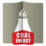 Coal energy concept Royalty Free Stock Photography