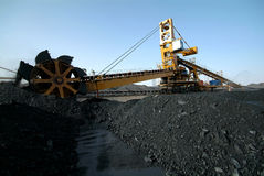 Coal energy industry Royalty Free Stock Image