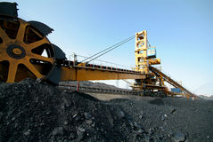 Coal energy industry Royalty Free Stock Images