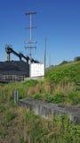 Coal Field Royalty Free Stock Photo
