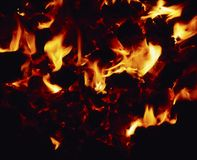 Coal Fire Stock Photos