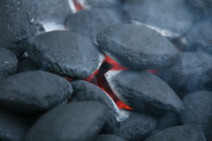 Coal Fire Stock Photography