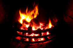 Coal Fire Royalty Free Stock Photography