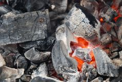 Coal_fire Photographie stock libre de droits