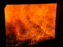 Coal fire grate boiler Royalty Free Stock Photo