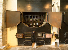 Coal Fired Boiler Stock Photography