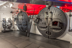 Coal-fired boilers, Tower Bridge, London, England Royalty Free Stock Images