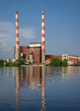 Coal Fired Electric Plant Royalty Free Stock Photography