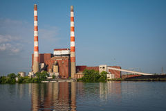 Coal Fired Electric Plant Stock Photos