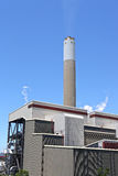 Coal fired electric power plant Royalty Free Stock Image