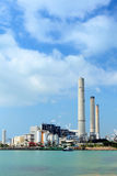 Coal fired electric power plant Royalty Free Stock Photos