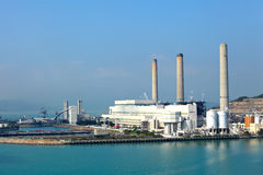 Coal fired electric power station Royalty Free Stock Photography