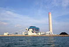 Coal fired electric power station Stock Image