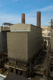 Coal fired power plant Royalty Free Stock Image