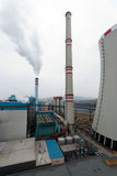 Coal fired power plant Royalty Free Stock Photography