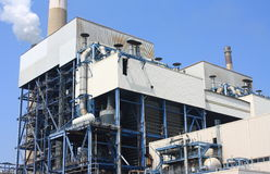 Coal-fired power plant Royalty Free Stock Photography