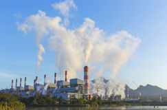 Coal-Fired Power Plant Stock Image