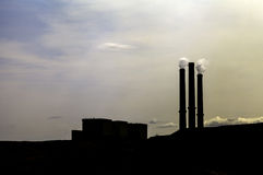 Coal Fired Power Stock Photo
