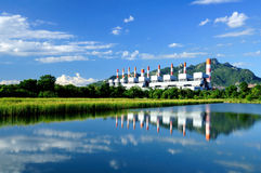 Coal-fired power plants Stock Image