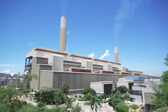 Coal fired power station Stock Image