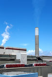 Coal fired power station Stock Images