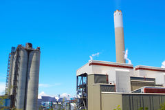 Coal fired power station Royalty Free Stock Image
