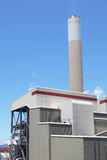 Coal fired power station Royalty Free Stock Photos