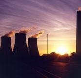 Coal fired power station in England Stock Images