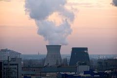 Coal fired power station powerplant Stock Photo
