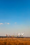 Coal-fireed power plant Stock Image