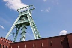 Coal funding in Bochum. Coal funding build in Germany, Bochum Stock Image
