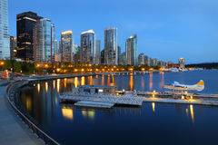 Coal Harbor Morning, Vancouver Royalty Free Stock Images