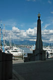 Coal Harbor, Vancouver BC Canada Royalty Free Stock Photos