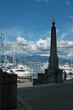 Coal Harbor, Vancouver BC Canada royalty free stock photos