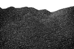 Coal heap Stock Photography