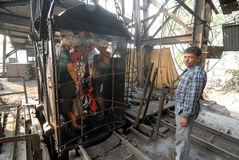 Coal India Worker Stock Image