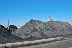 Coal industry stock photography