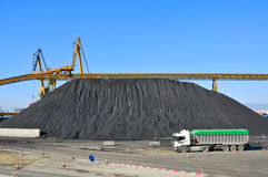 Coal industry royalty free stock image