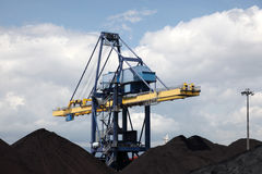 Coal industry facilities Stock Images
