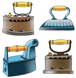 Coal iron Ironing appliances cast iron Royalty Free Stock Images