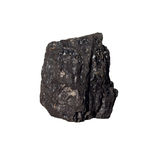 Coal on Isolated Stock Photo