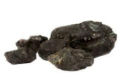 Coal isolated Stock Photo