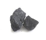 Coal. On Isolated White Background Royalty Free Stock Image