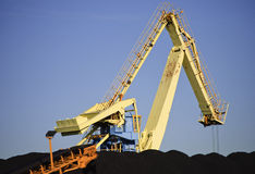 Coal loader Stock Photography
