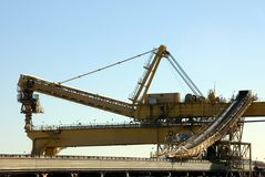 Coal Loader Royalty Free Stock Photos