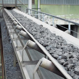 Coal loading Royalty Free Stock Photo