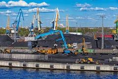 Coal loading machinery Stock Photography