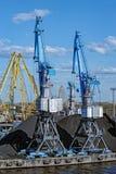 Coal loading machinery Stock Image