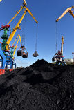 Coal loading Stock Images