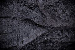 Coal lumps on dark background Royalty Free Stock Photo